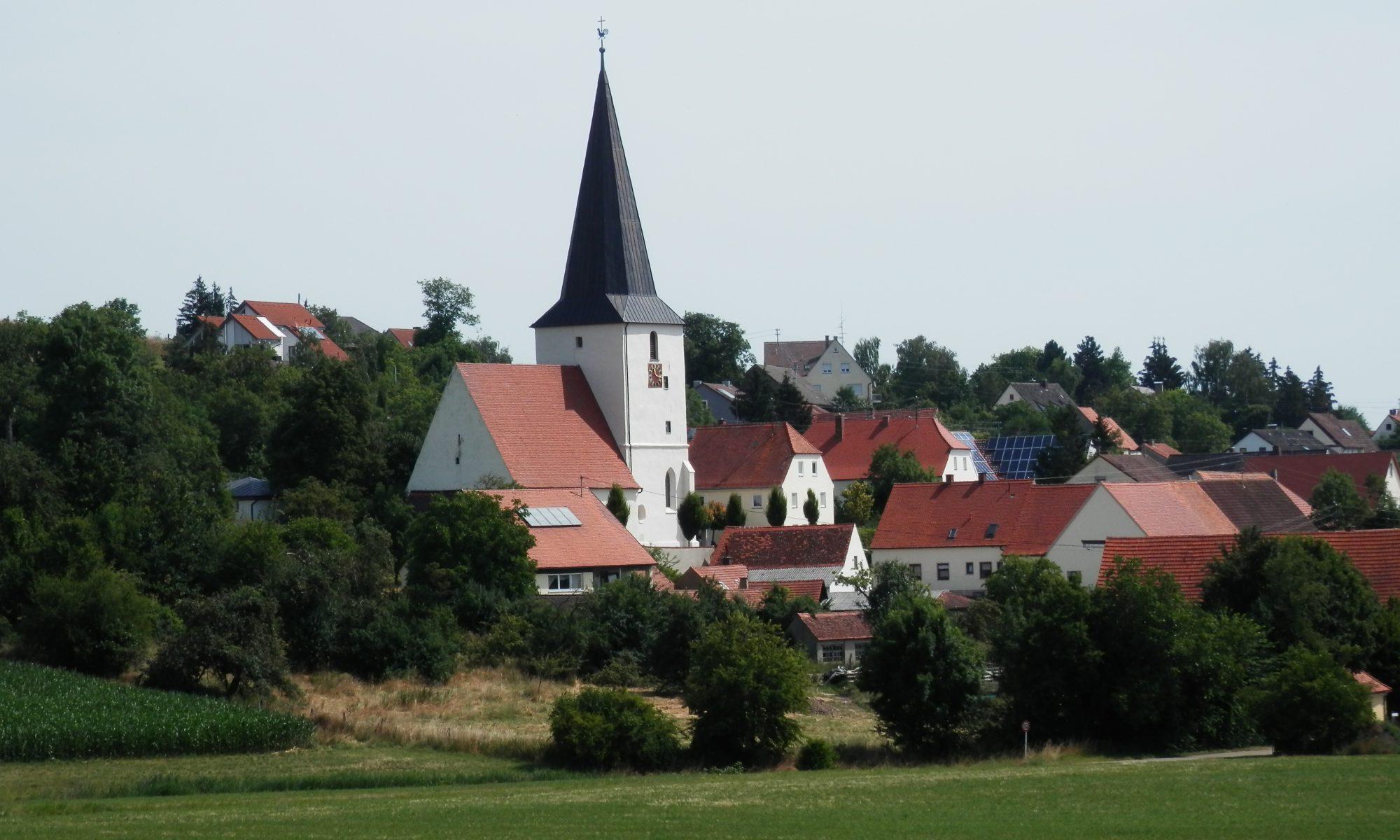 Evangelische Kirchengemeinden Hohenaltheim-Niederalteim, Schmähingen-Reimlingen und Balgheim